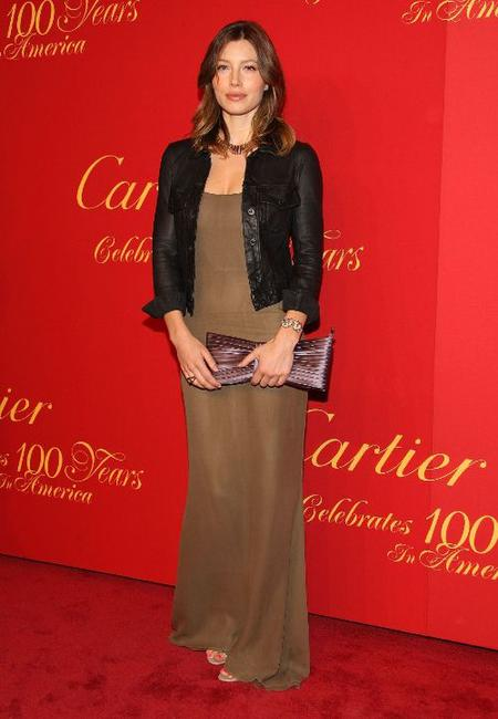 Jessica Biel at the Cartier 100th Anniversary in America Celebration.
